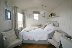 Double bed by Camber Sands
