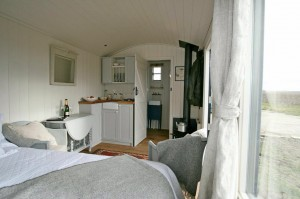 Camber sands glamping kitchen